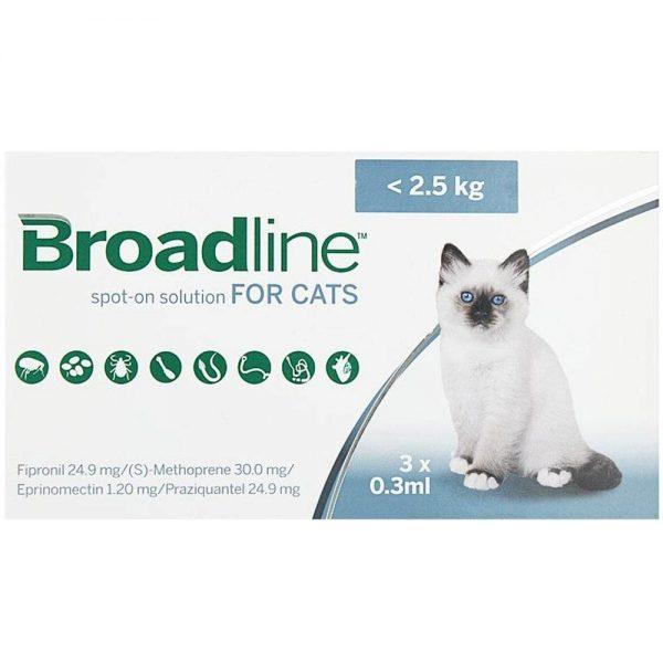 Broadline-spot-on-small-cats-below-2.5kg